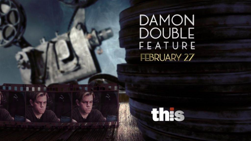 Matt Damon Double Feature - 20 Second THIS TV Promo