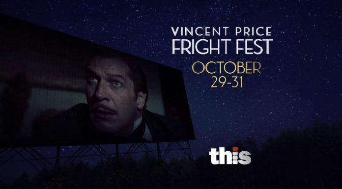 Vincent Price FRIGHT FEST - THIS TV 30 Second Commercial