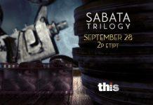 Sabata Trilogy SEPT 28